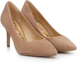 05b31bb5f686c7 Sam Edelman Beige Leather Heels - ShopStyle Canada