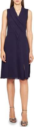 Reiss Alana Raw Edge Ruffle Dress