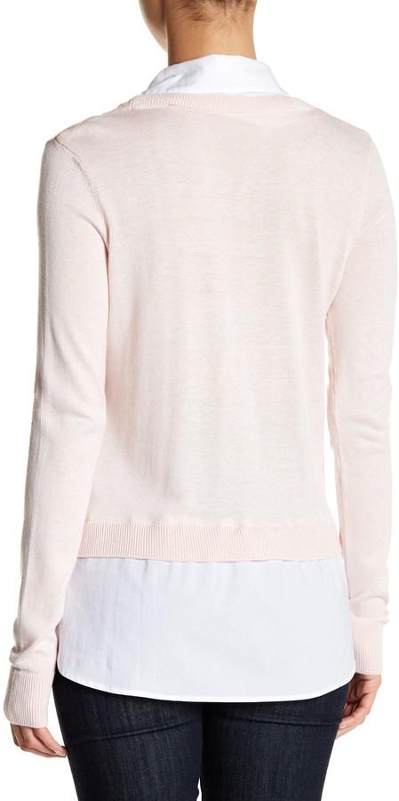 SUSINA Shirttail Sweater 3