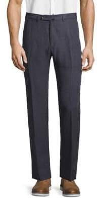 Armani Collezioni Flat Front Pants