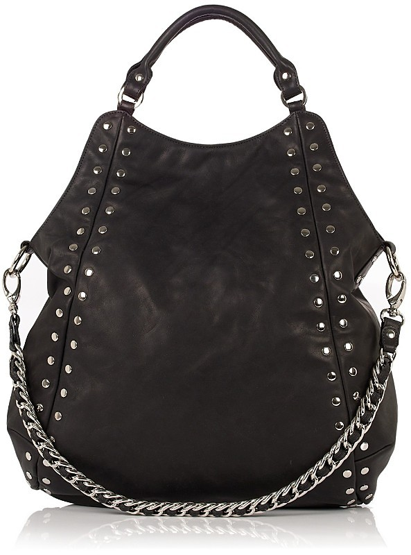 Be & D Ludlow Studded Leather Tote