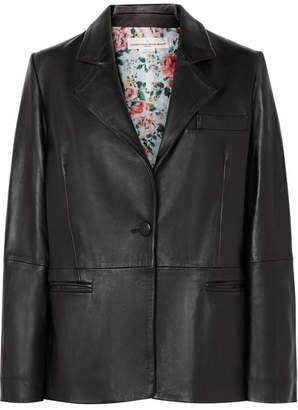 Golden Goose Ermada Leather Blazer - Black