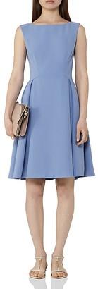 REISS Eri Pleated Dress $370 thestylecure.com