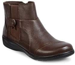 Clarks Collection By Cheyn Work Leather Ankle Boots
