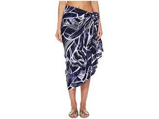 LaBlanca La Blanca Bali Hai Pareo Wrap Cover-Up Women's Swimwear