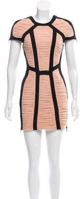 Josh Goot Ruched Mini Dress