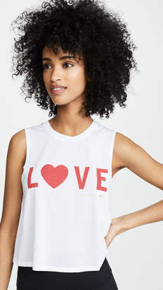 Spiritual Gangster Love Active Crop Tank