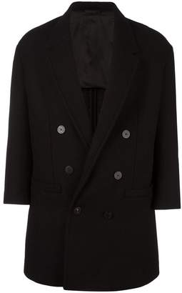 Neil Barrett oversize double-breasted coat