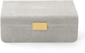 AERIN Shagreen Large Jewellery Box