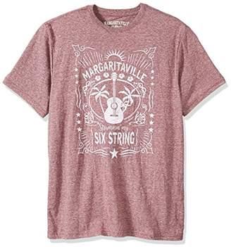 Margaritaville Men's Short Sleeve Strummin' Six String T-Shirt