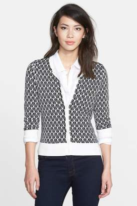 Halogen Three Quarter Sleeve Cardigan (Regular & Petite)