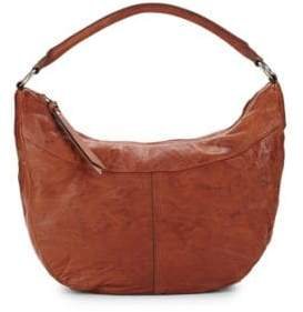 Frye Veronica Zip Leather Hobo Bag