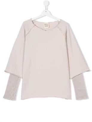 Douuod Kids layered blouse