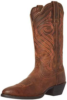 Ariat Women's Round Up R Toe Western Cowboy Boot