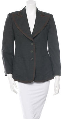 Paul Smith Single-Breasted Long Sleeve Blazer $85 thestylecure.com