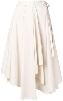Lemaire asymmetric napkin skirt