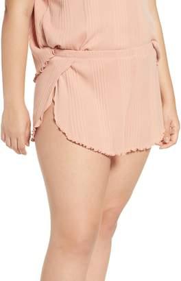 Madewell Ribbed Knit Pajama Shorts