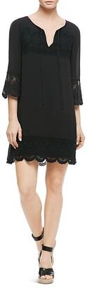 Sanctuary Simone Lace-Trim Dress $139 thestylecure.com