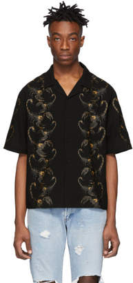 Stolen Girlfriends Club Black Scorpions Hawaiian Short Sleeve Shirt