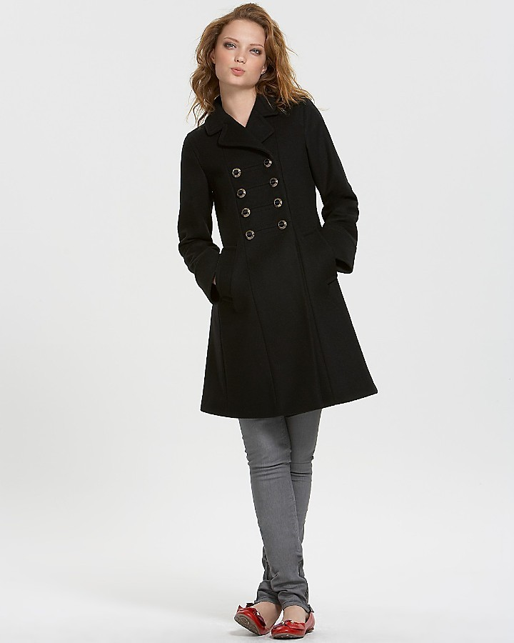 MARC BY MARC JACOBS Felted Wool Long Military Coat