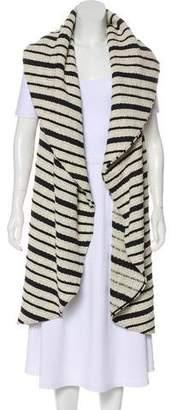 Alice + Olivia Cotton Sleeveless Knit Vest
