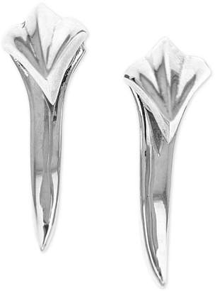 King Baby Studio Women's Claw Spike Earrings in Sterling Silver