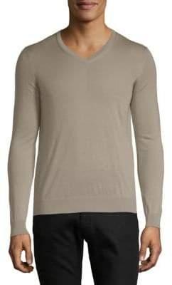 Giorgio Armani V-Neck Cashmere Sweater