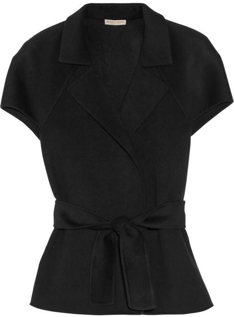 Bottega Veneta Belted double-faced cashmere jacket