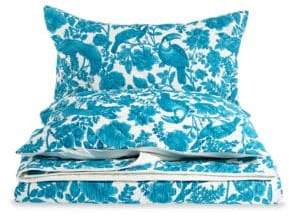 Distinctly Home Three-Piece Bird Floral Quilt Set