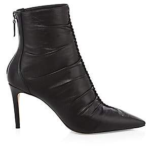 Alexandre Birman Women's Susanna Leather Heeled Booties