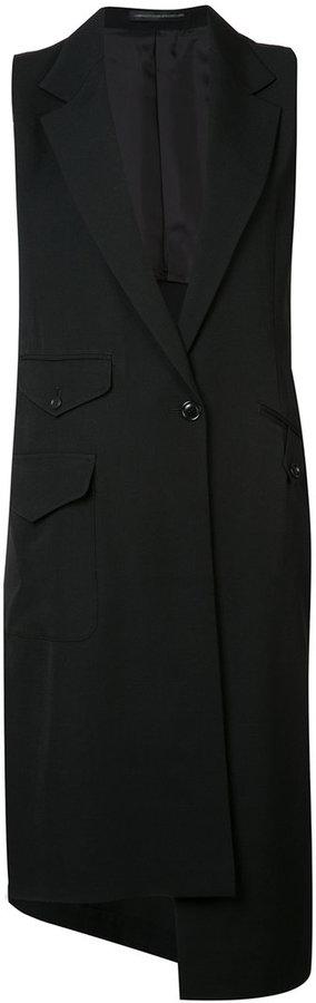 Y'sY's sleeveless coat