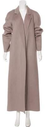 Michael Kors Virgin Wool-Blend Long Coat