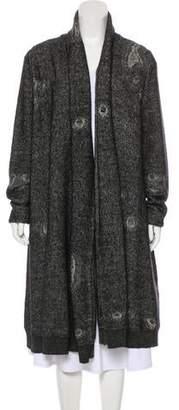 Alexander McQueen Distressed Wool-Blend Cardigan