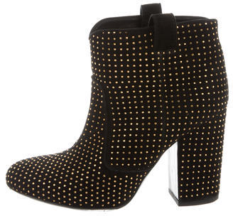 Laurence Dacade Studded Ankle Boots $345 thestylecure.com