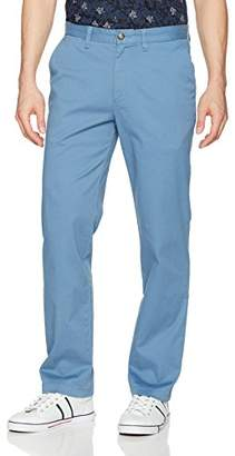 Nautica Men's Classic Fit Flat Front Stretch Solid Chino Deck Pant