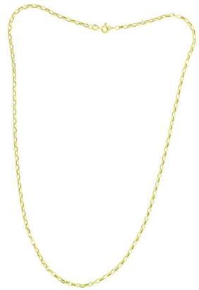 Accentor 9 ct Yellow Gold Hollow Box Chain of Length 60.96 cm hNSf9oVr