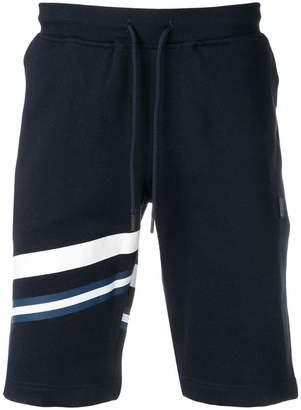 Paul & Shark blue track shorts