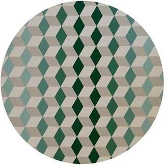 "Tisch New York Wood Placemats ""Geo"" (Set of 2)"