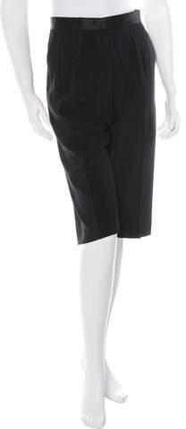 CelineCéline Knee-Length High-Rise Shorts