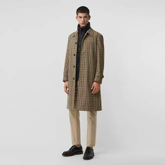 Burberry Check Car Coat with Detachable Gilet