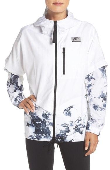 Nike 'International' Hooded Layered Jacket
