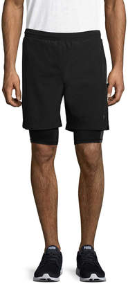 MPG Men's Layered Gym Shorts