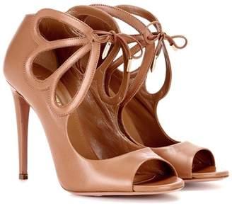 Aquazzura Syrah 105 leather sandals