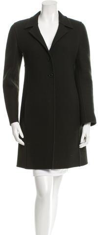 pradaPrada Notch-lapel Wool Coat
