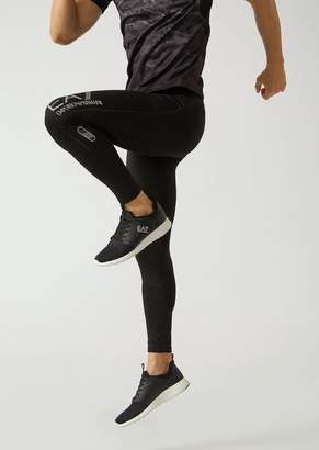 Emporio Armani Ea7 Furor 7 Technical Fabric Training Leggings