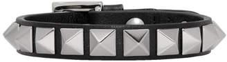 Valentino Black Garavani Rockstud Bracelet