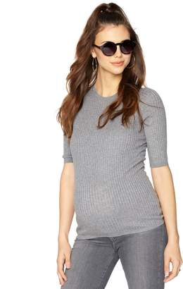 Vince Pea Collection Maternity Crew Neck Sweater