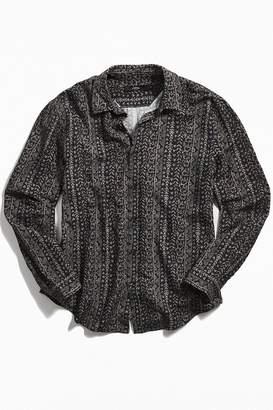 Loom Ikat Button-Down Shirt