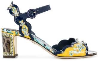 Dolce & Gabbana Keira Majolica sandals