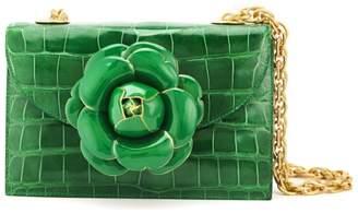 Oscar de la Renta Emerald Alligator TRO Bag